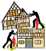 dividing property assets