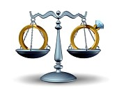 30156300-prenuptial-agreement-and-divorce-law-concept-as-a-justice-scale-with-wedding-rings-as-a-symbol-of-a-