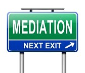 22988106-illustration-depicting-a-sign-with-a-mediation-concept